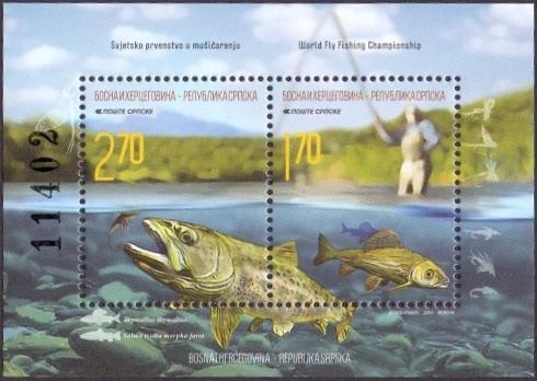 Fishing, souvenir sheet, MINT, 2015