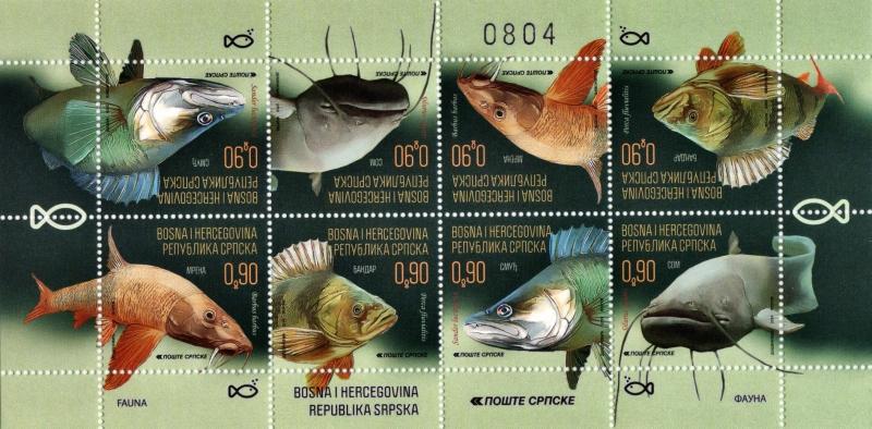 Fishes, souvenir sheet, MNH, 2019