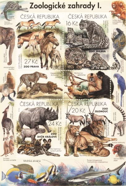 Nature Protection: Zoological Gardens (1st Part), souvenir sheet, MINT, 2016