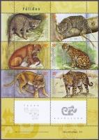 Wild Cats, souvenir sheet, MINT, 2001