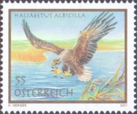 Eagle (Haliaeetus albicilla) - Joint issue Austria-Serbia, MINT, 2007