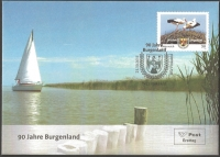 90 years Burgenland, FDC (Special Edition), 2011