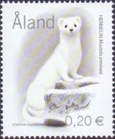 Predators - Stoat (Mustela erminea), stamp, MINT, 2004