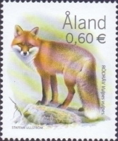 Predators - Red Fox (Vulpes vulpes), stamp, MINT, 2004