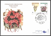 Flowers, FDC, 1997