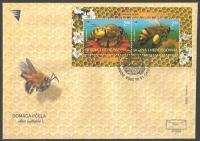 Honeybees, FDC, 2004
