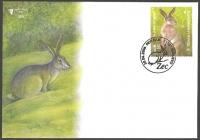 Wild life - Hare (Lepus europaeus), FDC, 2006