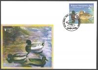 Wild life - Mallard (Anas platyrhynchos), FDC, 2006