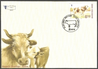 Cow, FDC, 2007