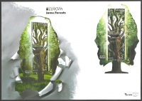 Europa - Forests, FDC, 2011