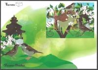 Fauna - Sparrow, FDC, 2011