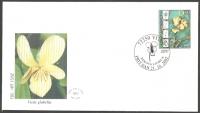 The Flora of BiH: Beck's Violet (Viola beckiana), FDC, 2002
