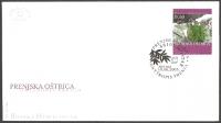 The Flora of BiH: Prenja Crazyweed (Oxytropis prenja), FDC, 2003