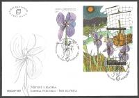 Flora in Myth - Iris, FDC, 2007
