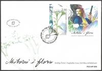 Flora in Myth - Achillea, FDC, 2008
