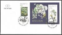 Flora in Myth - Pennyroyal (Tanacetum balsamita), FDC, 2009