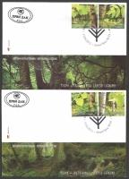 Trees, set of 2 FDCs, 2012