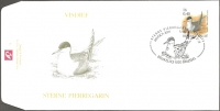Common tern (Sterna hirundo), FDC, 2001