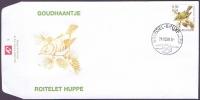 Goldcrest (Regulus regulus), FDC, 2001