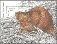 Conservation: Beavers, souvenir sheet, MINT, 1996