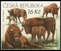 European Bison, stamp, MINT, 2017