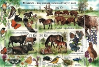 Nature Protection: Milovice, souvenir sheet, MINT, 2021