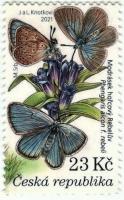 Alcon large blue Rebel, stamp, MNH, 2021