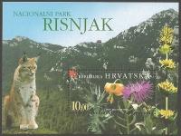 National Park Risnjak, souvenir sheet, MINT, 2004