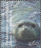 Croatian Fauna - Mediterranean Monk Seal, MINT, 2011