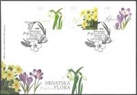 Croatian Flora - Flowers, FDC, 2012