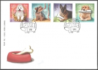 Pets - Dogs, FDC, 2013