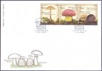 Edible mushrooms, FDC, 2013