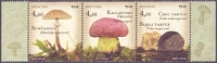 Edible mushrooms, set of 3 stamps, MINT, 2013