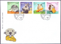 Pets - Rodents, FDC, 2014
