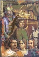 ZRINSKI / FRANKOPAN FAMILIES, souvenir sheet, MINT, 1996