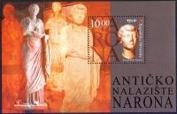 ANCIENT SITE NARONA, souvenir sheet, MINT, 2005
