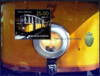 TRAMWAY IN DUBROVNIK, souvenir sheet, MINT, 2010