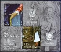 RAB - SAN MARINO, souvenir sheet, MINT, 2012