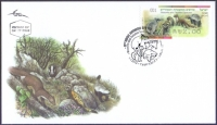 Weasels and Related Species, FDC, 2014