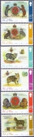Manx Cats - Tales of the Tailless, set of 6 stamps, MINT, 2011