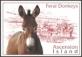 Feral Donkeys, postcard without stamp, 2000