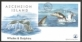 Dolphins and whales, FDC with souvenir sheet, 2009