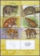 Wild Cats, souvenir sheet, MINT, 2001