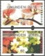 Orchids and Primroses, set of 2 ATM self-adhesive stamps, MINT, 2012