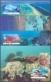 Australian Coral Reefs, set of 4 maximum cards, 2013