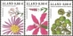 Flowers, set of 3 stamps, MINT, 2007