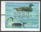 Eider duck (old wooden duck decoys), franking label, MINT, 2012