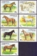 Horses, set of 7 stamps, 1993