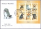 Dogs, FDC with souvenir sheet - 6 stamps, 2011