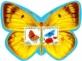 Butterflies, souvenir sheet, MINT, 2014